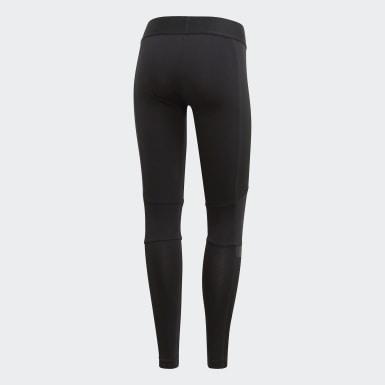 Kadın Athletics Siyah adidas W.N.D. Tayt