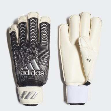 Soccer White Classic Pro Fingertip Gloves