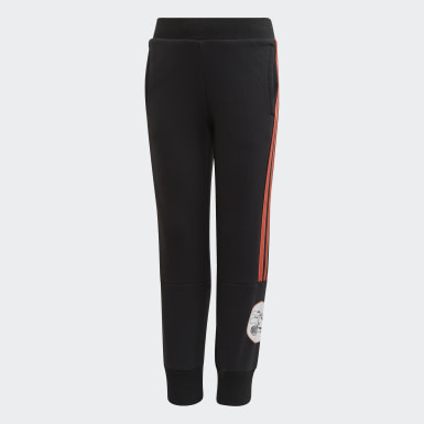 Girls Training Black Minnie Mouse Joggers