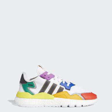 Originals Hvid Nite Jogger Pride sko