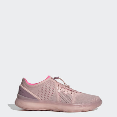 Women adidas by Stella McCartney Pink Pureboost Trainer Shoes