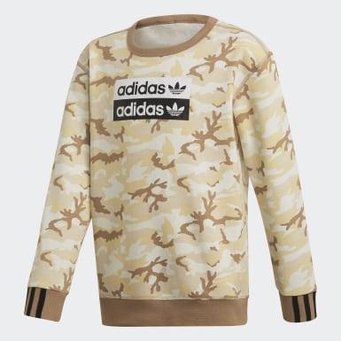 R.Y.V. Camouflage Crewneck Sweatshirt
