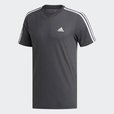 T-shirt3-Stripes Trail gris Hommes Entraînement