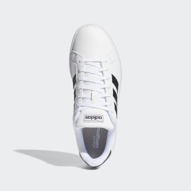 Tenis Grand Court Blanco Mujer Essentials