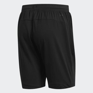 Erkek Yoga Siyah 4KRFT Sport Ultimate 9-Inch Örgü Şort