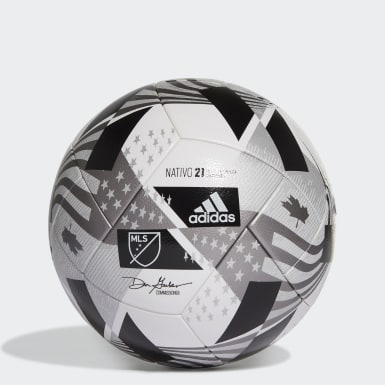 Men's Soccer White MLS NFHS Competition Ball
