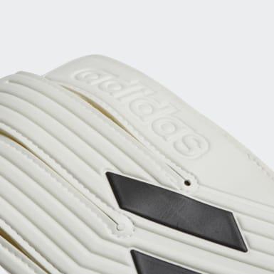 Luvas Goleiro Tiro Club (UNISSEX) Branco Futebol