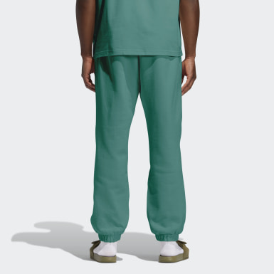 Pantalon molleton Pharrell Williams Basics (Non genré) Vert Originals