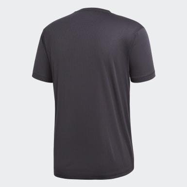 Erkek Training Gri Freelift Climachill Tişört
