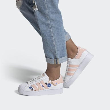Tenis Superstar Bold Blanco Mujer Originals