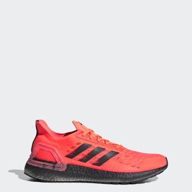 Sapatos Ultraboost PB Laranja Homem Running
