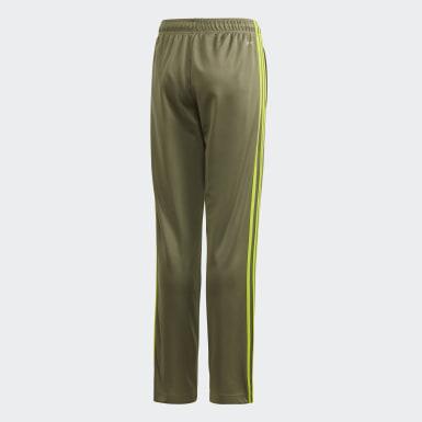 Pantaloni 3-Stripes Verde Ragazzo Training