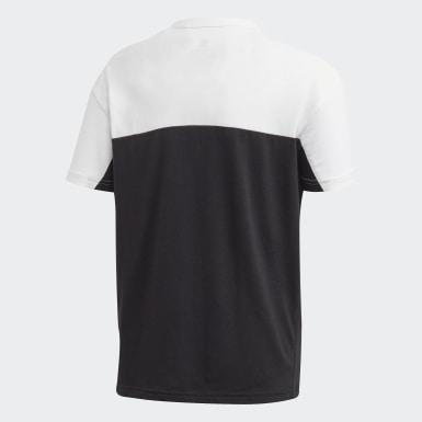 เด็กผู้ชาย Originals สีดำ เสื้อยืด Colorblock