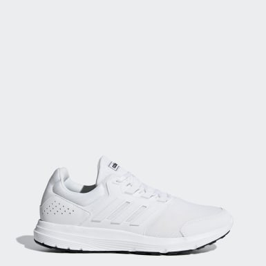 Men Running White Galaxy 4 Shoes