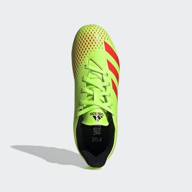 Children Soccer Green Predator 20.4 Flexible Ground Cleats