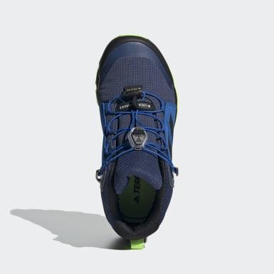 Kinderen TERREX blauw Terrex Mid GORE-TEX Hiking Schoenen