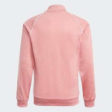 Børn Originals Pink Adicolor SST træningsjakke