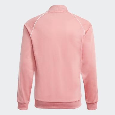 Track jacket adicolor SST Rosa Bambini Originals