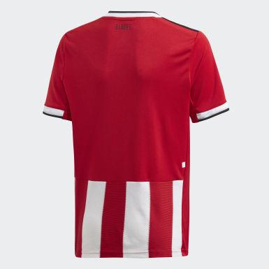 Boys Fodbold Rød Sheffield United hjemmebanetrøje