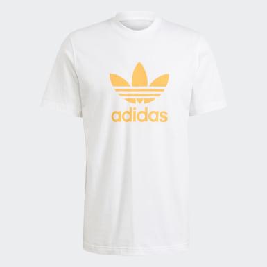 Mænd Originals Hvid Trefoil T-shirt