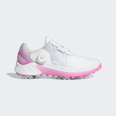 Women Golf White ZG21 BOA Golf Shoes