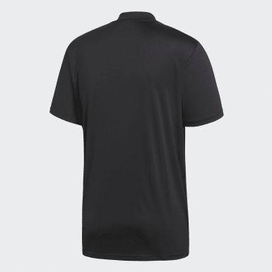 Men Football Black Referee Jersey
