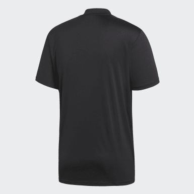 Men Football Black Referee Jersey