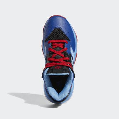 Børn Basketball Sort Harden Stepback sko