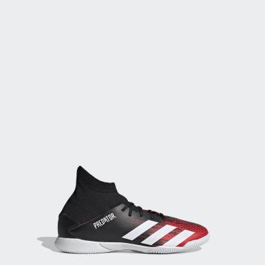 Zapatos de Fútbol Predator 20.3 Cancha Cubierta Negro Niño Fútbol