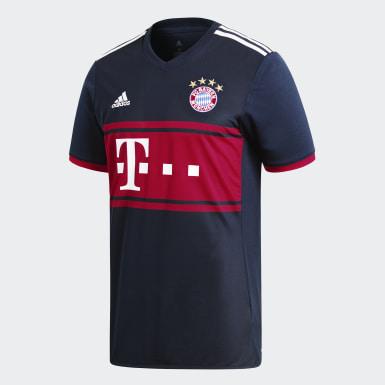 Jersey de Visitante FC Bayern Múnich Réplica Azul Hombre Fútbol