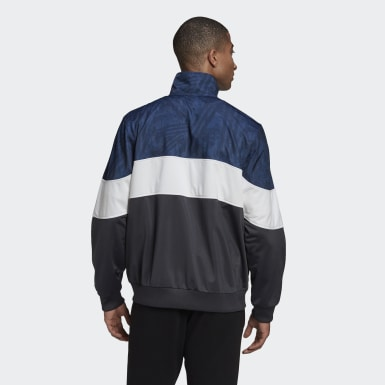 Track top BX-20 Graphic Grigio Uomo Originals