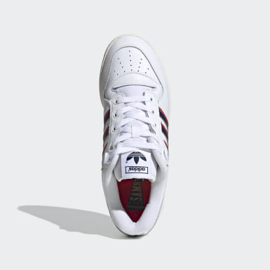 Zapatilla Rivalry Low Burgundy Originals