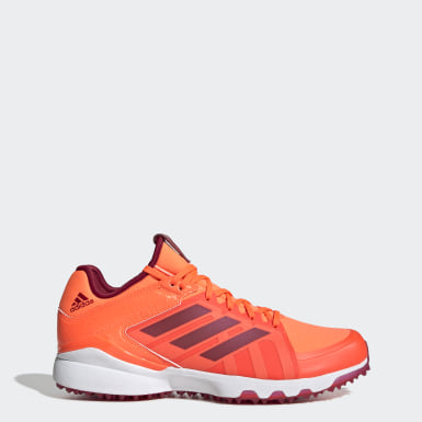 Men Field Hockey Orange Hockey Lux Shoes