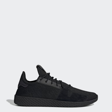 Originals สีดำ รองเท้า Pharrell Williams Tennis Hu V2