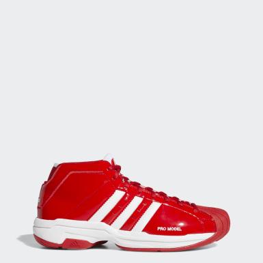 красный Баскетбольные кроссовки Pro Model 2G