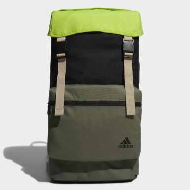 Training Black Flap Two-Layer Backpack