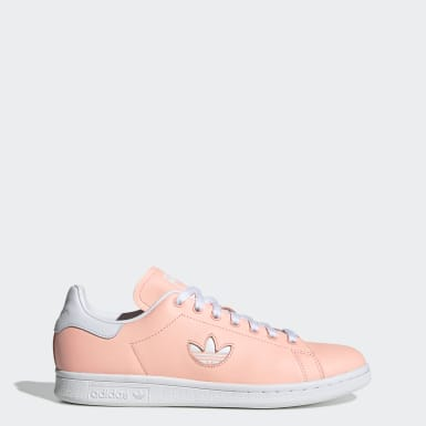 Tenis Stan Smith Rosa Mujer Originals