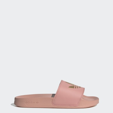 Women Originals Pink Adilette Lite Slides
