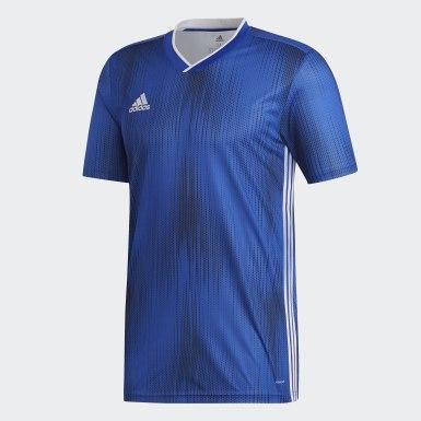 Men Soccer Blue Tiro 19 Jersey