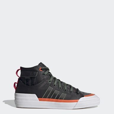 Men Originals Black Nizza Hi DL Shoes