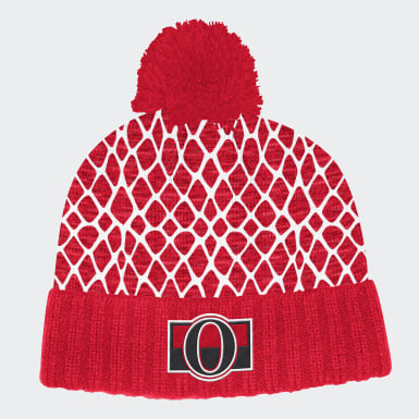 Men Hockey Multicolor Senators Netminder Pom Beanie