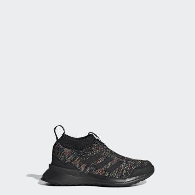 Children Running Black RapidaRun LL Shoes