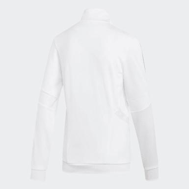 Veste de survêtement Tiro blanc Femmes Soccer