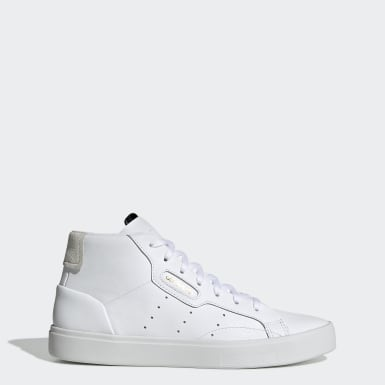 Scarpe adidas Sleek Mid Bianco Donna Originals