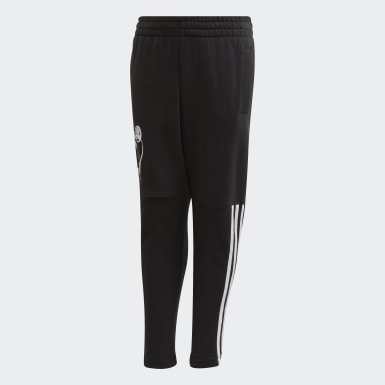 Boys Training Black Mickey Mouse Pants