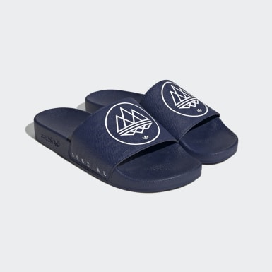 Men's Originals Blue Adilette SPZL Slides