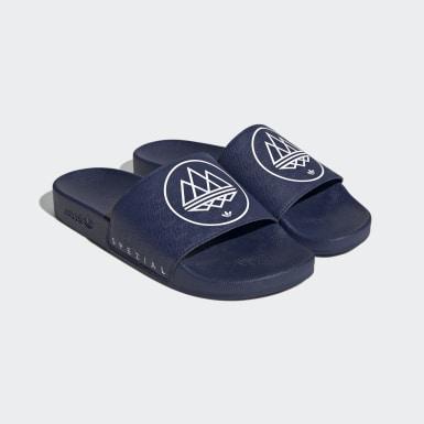Ciabatte adilette SPZL Blu Originals