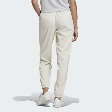 Women Originals White Cuffed Joggers