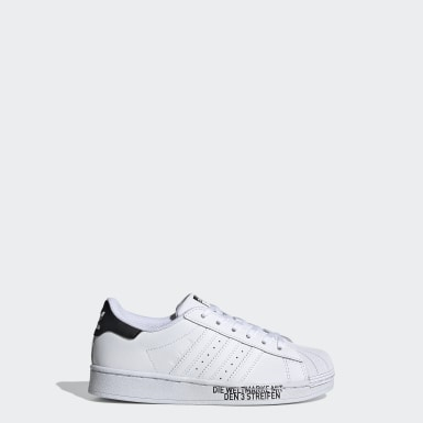 Sapatos Superstar Branco Criança Originals