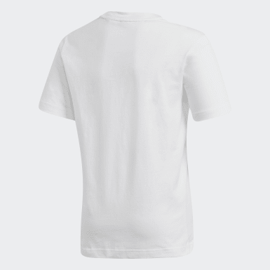 Youth Essentials White Must Haves  Badge of Sport Tee